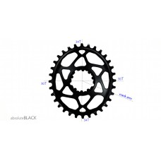Absolute Black - Sram Oval Boost 148 (3mm offset) 12spd Hyperglide+