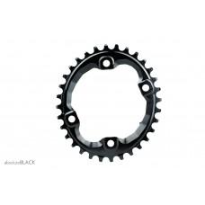 Absolute Black - Shimano XT M8000 / SLX M7000 Oval