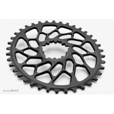 Absolute Black - CX1 Oval Sram