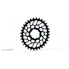 Absolute Black - Sram Oval Super Boost