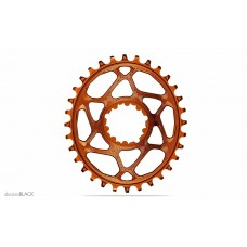 Absolute Black - Sram OVAL Direct Mount BOOST148 (3mm offset) - Orange / Portocaliu