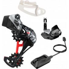 Sram X01 AXS Eagle - upgrade kit - rosu